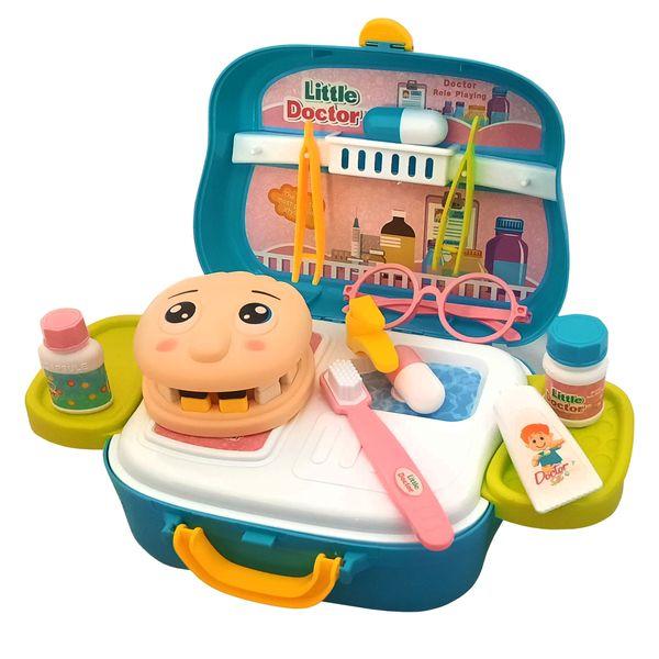 ست اسباب بازی تجهیزات پزشکی مدل دندانپزشکی کد 6020100