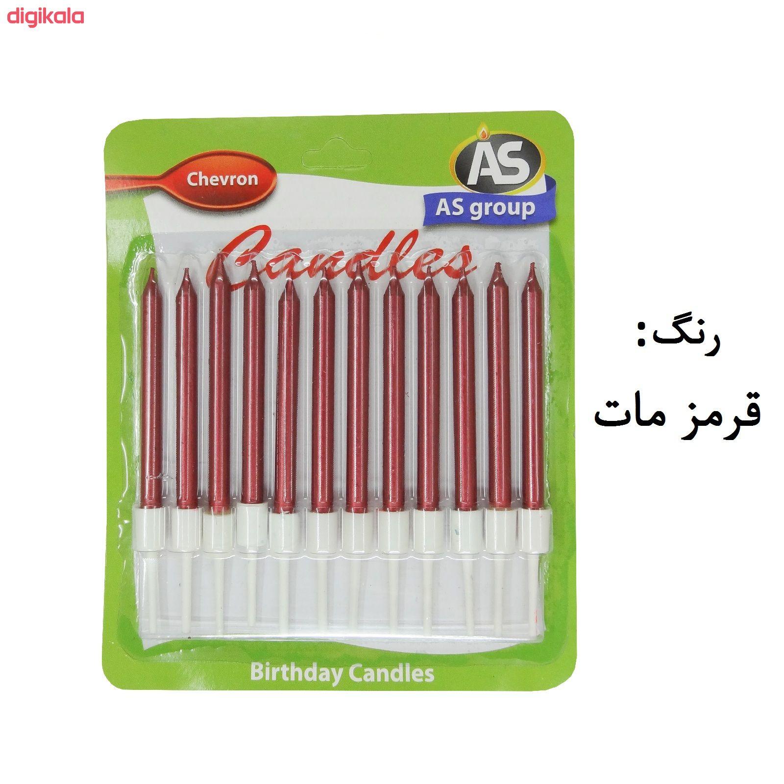 شمع تولد طرح مداد کد 1008 بسته 12 عددی main 1 4