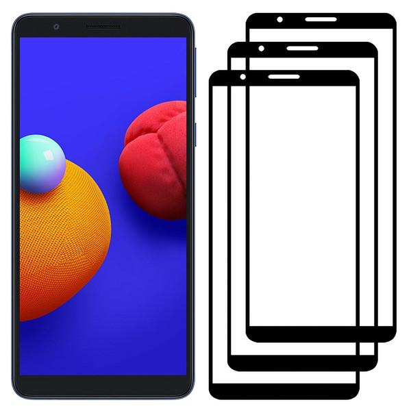 محافظ صفحه نمایش مدل FCG مناسب برای گوشی موبایل سامسونگ Galaxy A01 Core بسته سه عددی