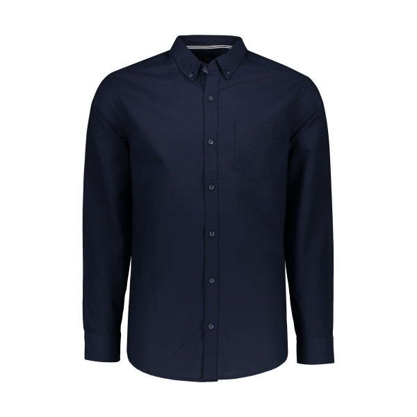 پیراهن آستین بلند مردانه کالینز مدل CL1035946-NAV