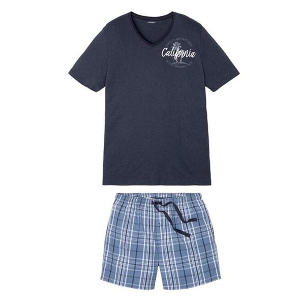 ست تی شرت و شلوارک مردانه لیورجی مدل SXA987