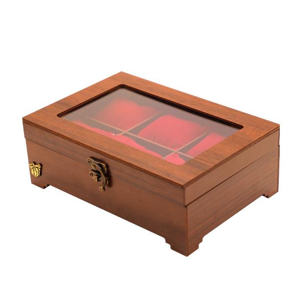 جعبه ساعت لوکس باکس مدل چوبی کد LB320-1