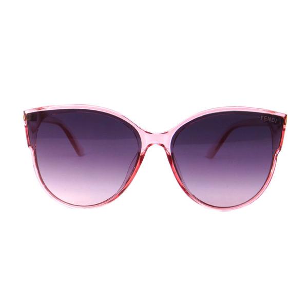 عینک آفتابی زنانه فندی مدل 9908 رنگ صورتی