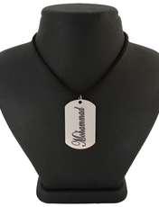 گردنبند مردانه ترمه ۱ طرح محمد کد Sam 109 -  - 1