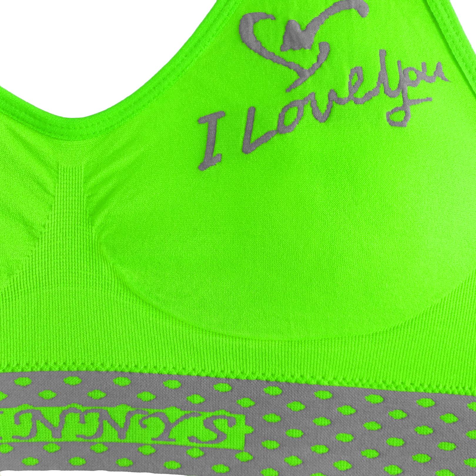 ست نیم تنه و شورت ورزشی زنانه کد 03-S80 رنگ فسفری