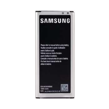 باتری موبایل مدلEB-BG850BBE ظرفیت 1860 میلی آمپر ساعت مناسب برای گوشی موبایل سامسونگ Galaxy Alpha