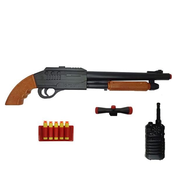 تفنگ بازی گلدن گان مدل naabsell-p30 مجموعه 4 عددی