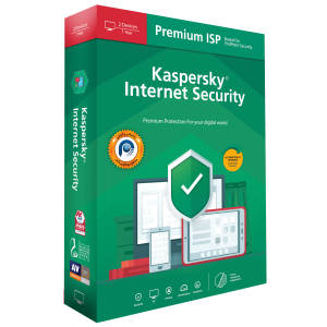 نرم افزار آنتی ویروس کسپرسکی لب نسخه اینترنت سکیوریتی پریمیوم آی اس پی 2020 دو کاربره 1 ساله