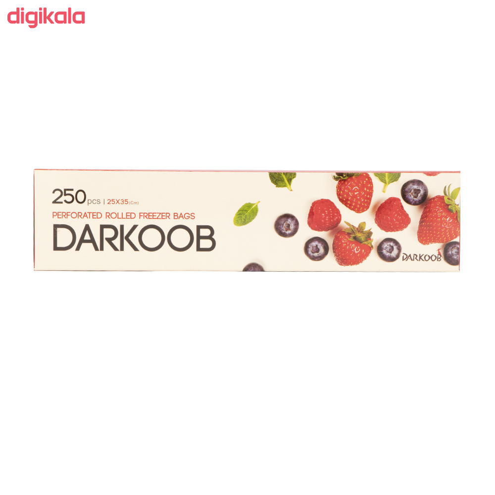 کیسه فریزر دارکوب مدل 6030 بسته 250 عددی main 1 2