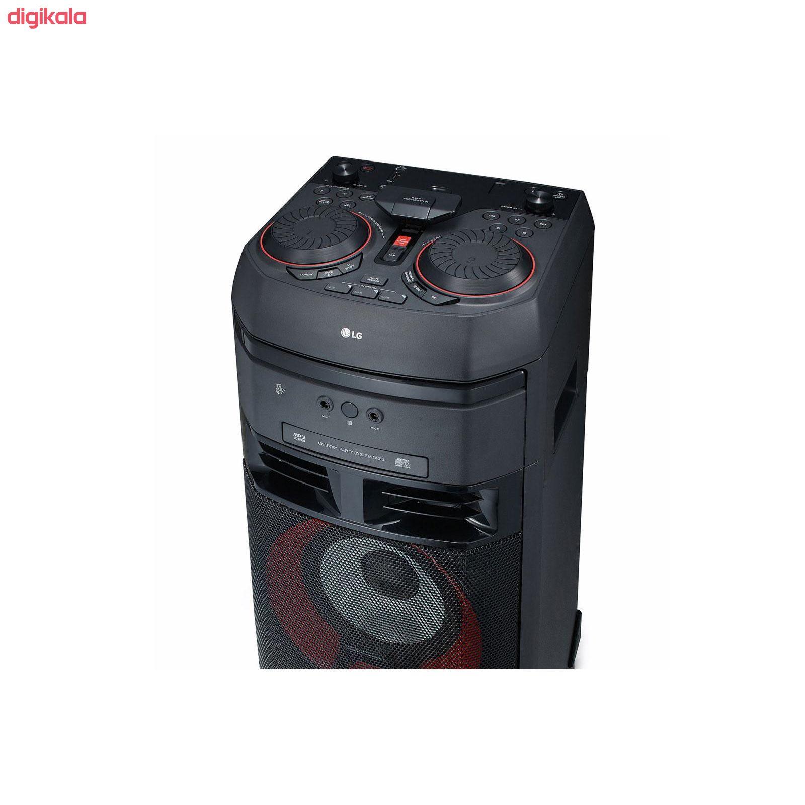 سیستم صوتی خانگی ال جی مدل OK55 main 1 1