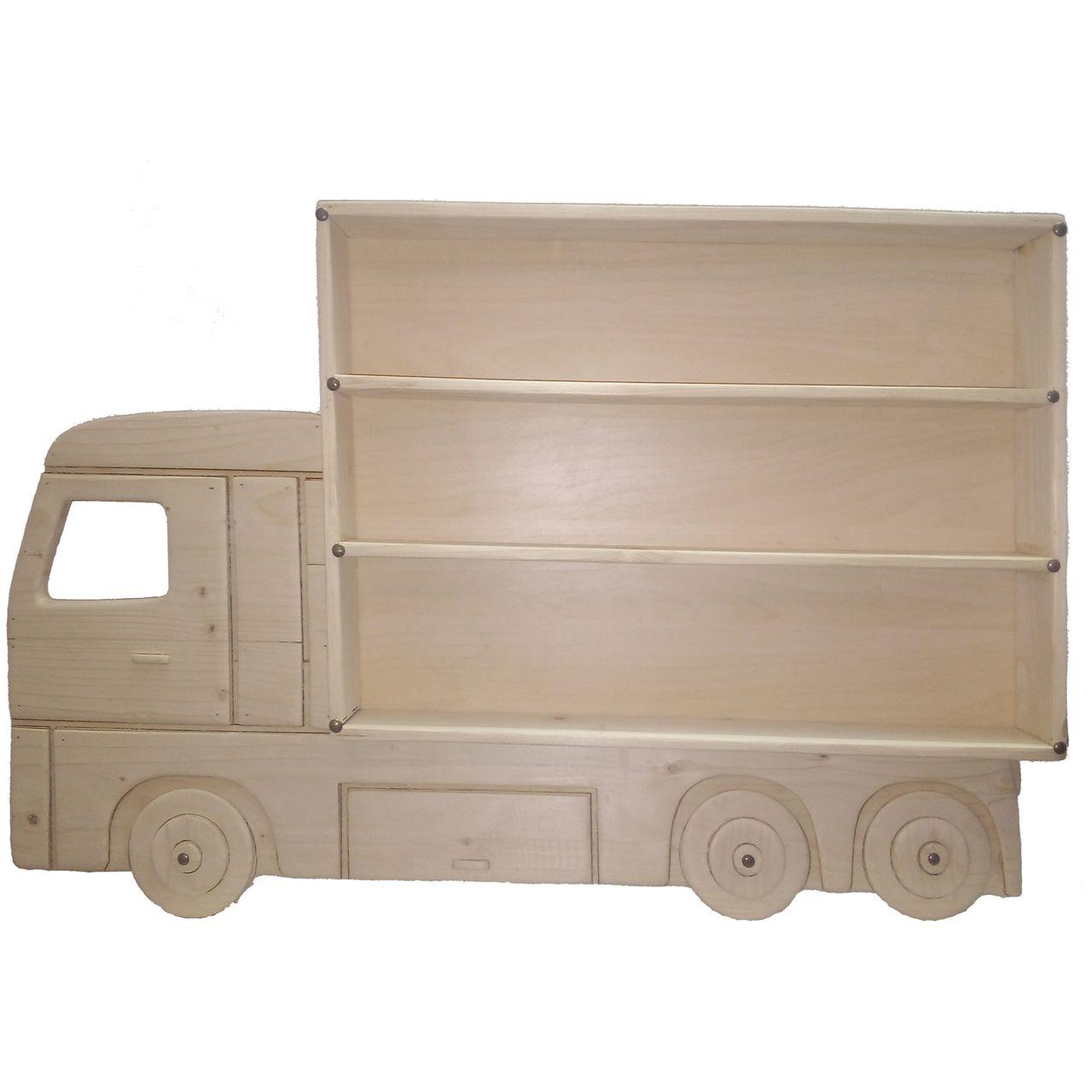 طبقه دیواری طرح کامیون
