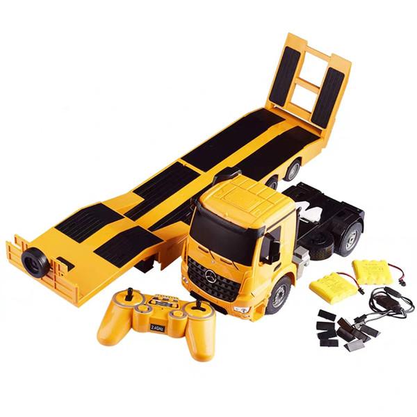 ماشین بازی کنترلی دبل ای مدل 003 RC Trailer Truck