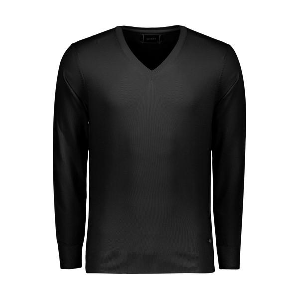 پلیور مردانه ال سی من مدل 09315823-BLACK
