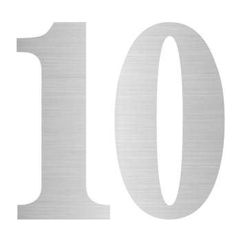 تابلو نشانگر مستر راد طرح پلاک واحد شماره 10کد S 10