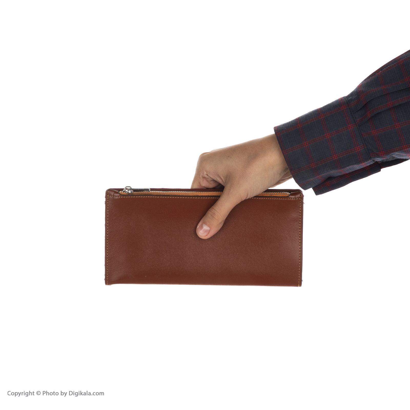 کیف پول چرم آنیل مدل رایان main 1 3