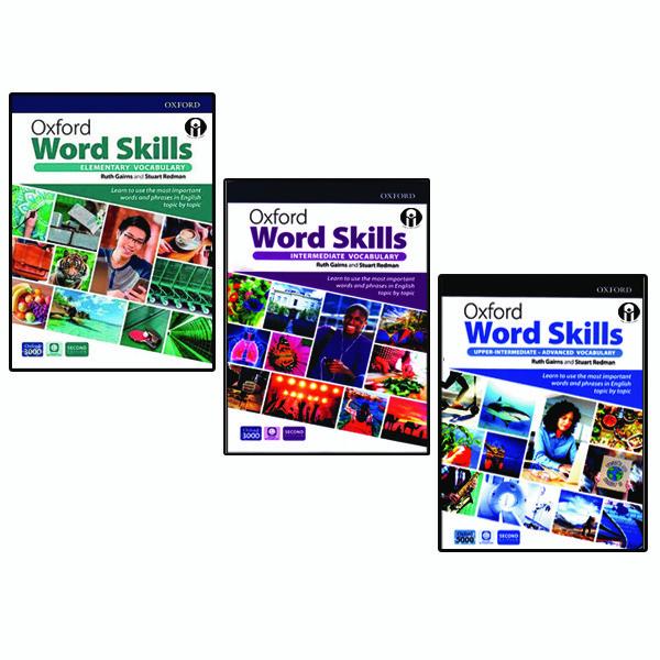 کتاب Oxford Word Skills Second Edition اثر Ruth Gairns And Stuart Redman انتشارات الوندپویان سه جلدی