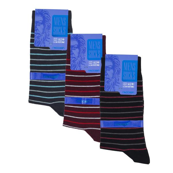 جوراب مردانه راکون مدل 102290 مجموعه 3 عددی