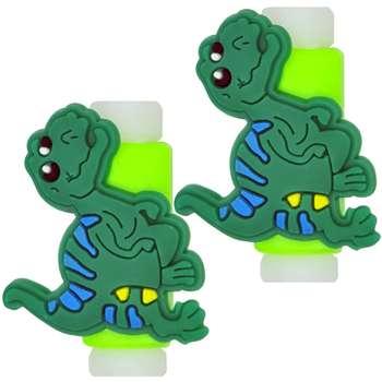 تصویر محافظ کابل مدل Happy Dinosaur 02 بسته 2 عددی
