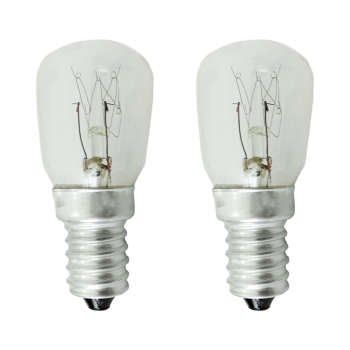 لامپ یخچال 15 وات کد MV پایه E14 بسته 2 عددی