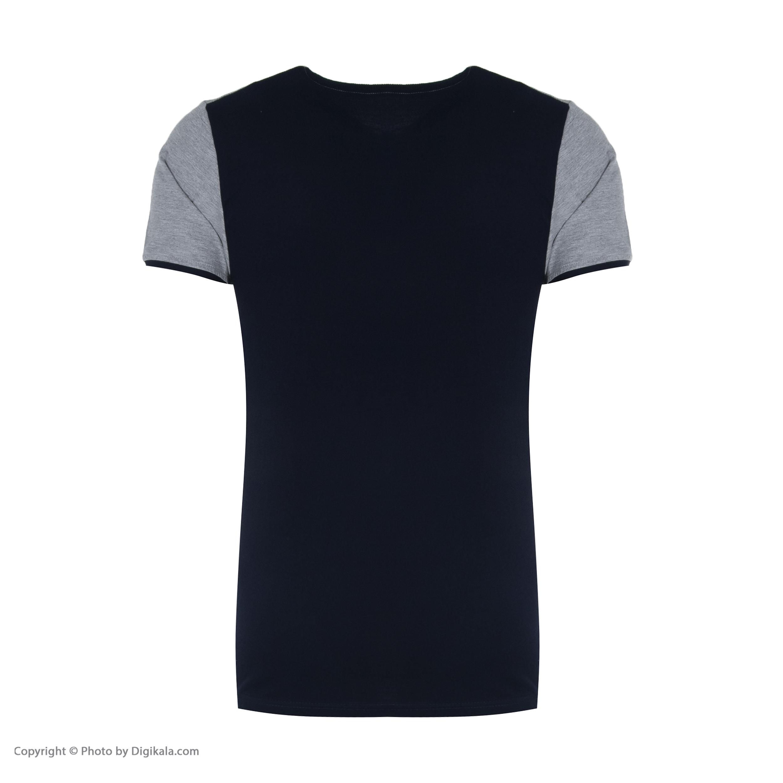 ست تی شرت و شلوار مردانه آسوده کد 0240 رنگ مشکی -  - 9