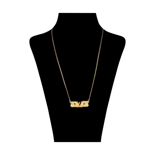 گردنبند طلا 18 عیار زنانه مایا ماهک مدل MM1287
