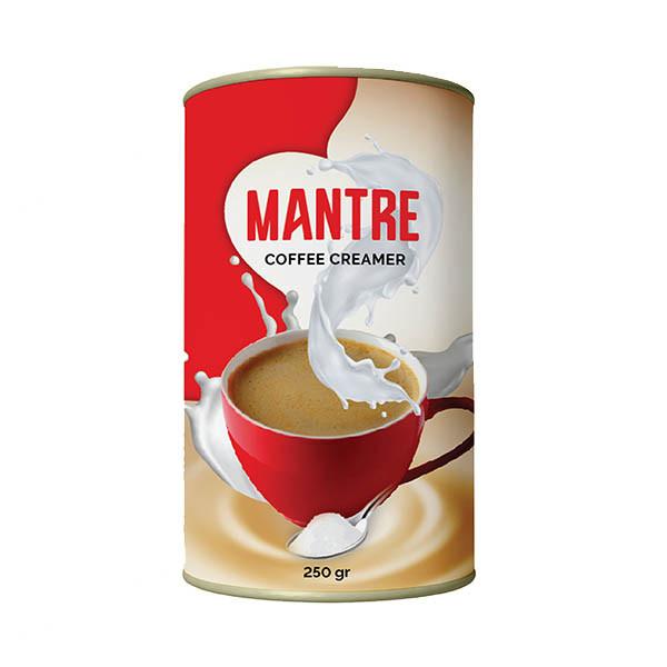 پودر خامه ای کننده غیرلبنی قهوه مانتره - 250 گرم