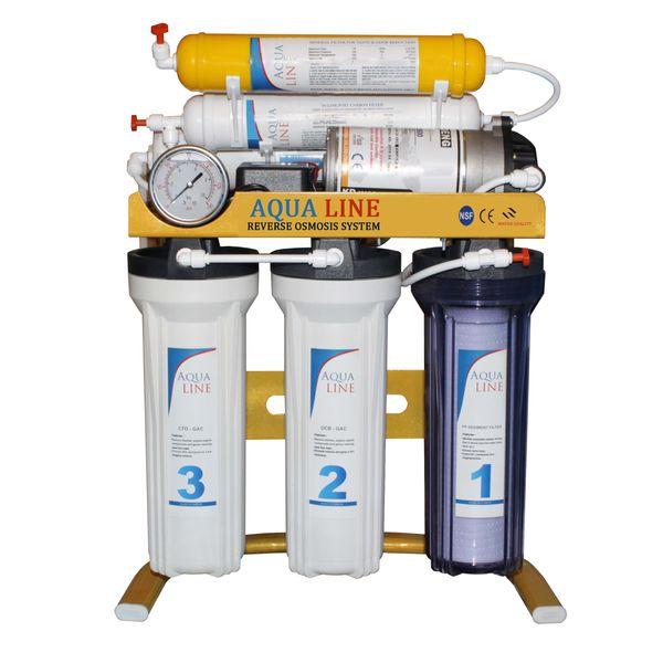 دستگاه تصفیه کننده آب آکوا لاین مدل GOLD 6S