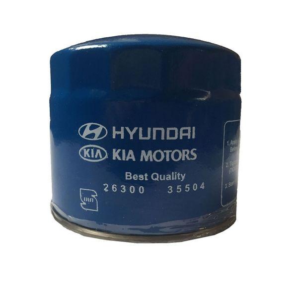 فیلتر روغن خودرو هیوندای کد 6662582955
