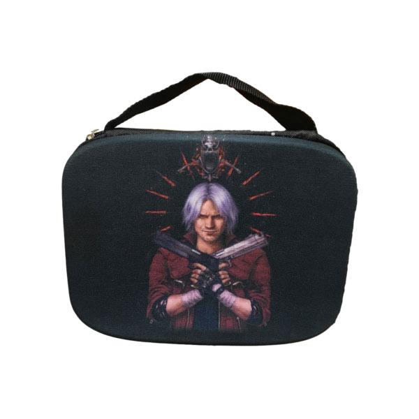 بررسی و {خرید با تخفیف}                                     کیف حمل دسته بازی پلی استیشن ۴ مدل devil                             اصل