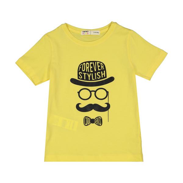 تی شرت پسرانه کوتون مدل 0YKB16709OK