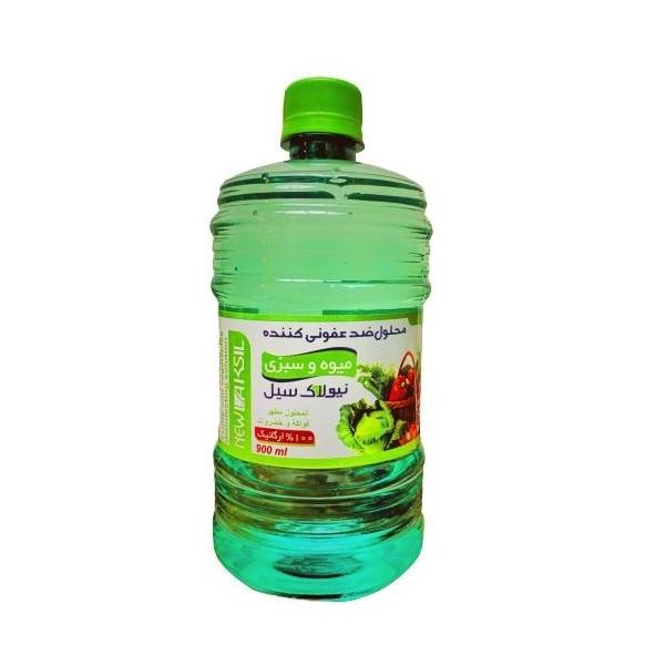 محلول ضدعفونی کننده میوه و سبزیجات نیولاک سیل مدل El1 حجم 900 میلی لیتر