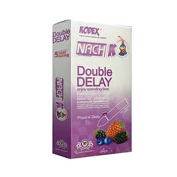 کاندوم ناچ کدکس مدل Double Delay بسته 10 عددی