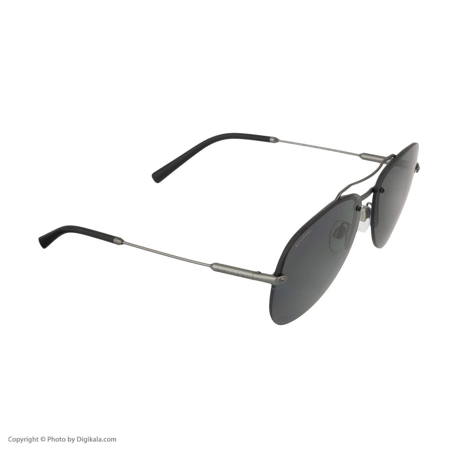 عینک آفتابی مردانه بولگاری مدل BV5044S 19581 -  - 3