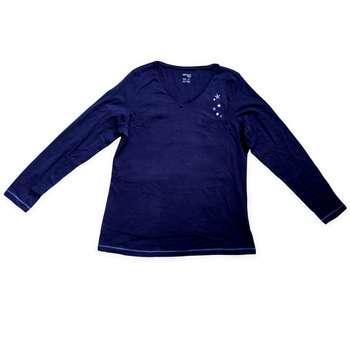 تی شرت آستین بلند زنانه اسمارا مدل ME11122