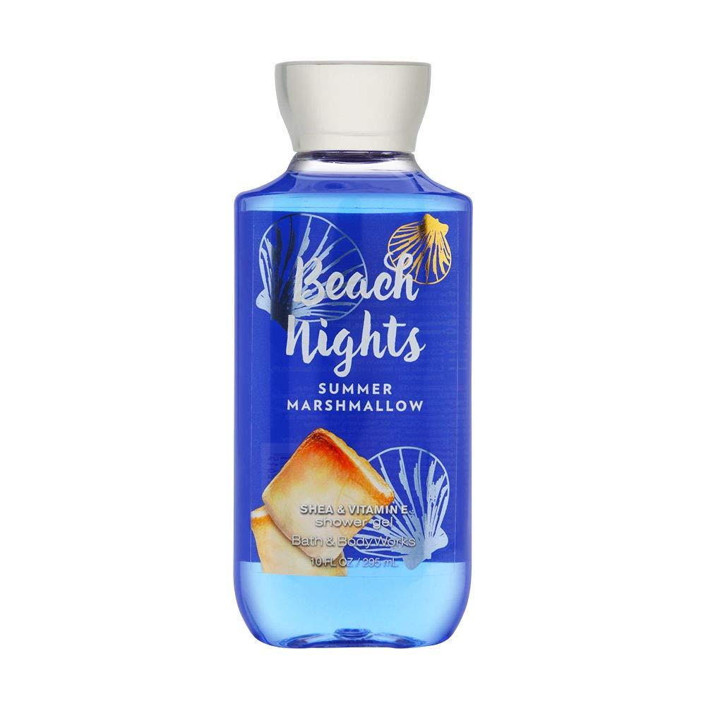ژل شستشو بدن بس اند بادی ورکز مدل Beach nights summer marshmallow حجم 295 میلی لیتر