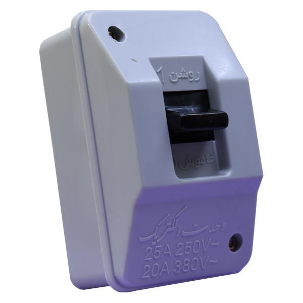 کلید سیمون تکفاز وحدت الکتریک مدل b3