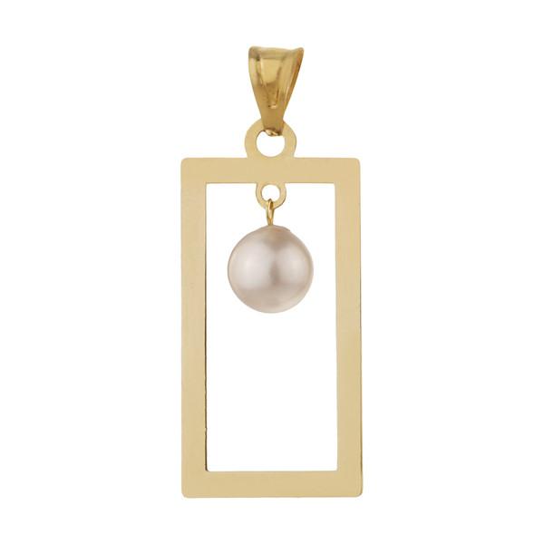 آویز گردنبند طلا 18 عیار زنانه مایا ماهک مدل MM1358