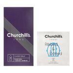 کاندوم چرچیلز مدل کلاسیک تاخیری بسته 12 عددی به همراه کاندوم چرچیلز مدل شیاردار و خاردار بسته 3 عددی thumb
