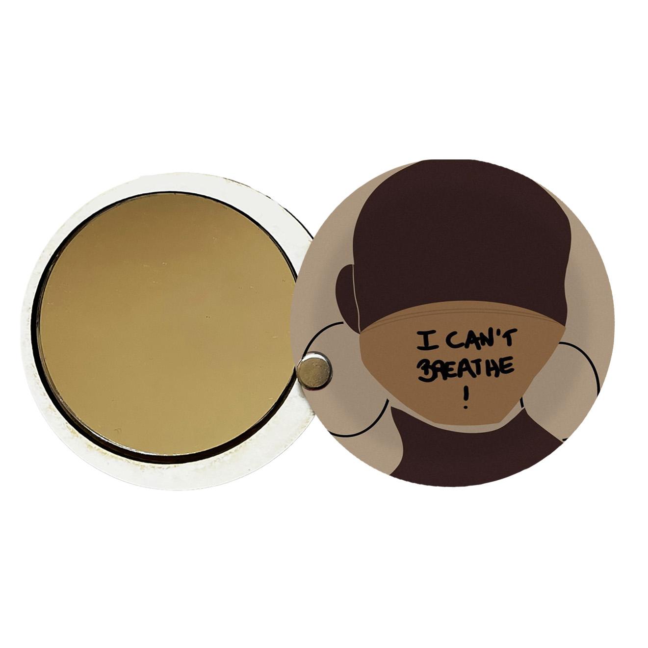 آینه جیبی طرح دخترانه کد ay81