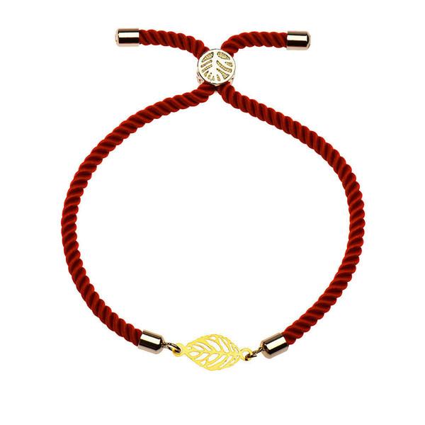 دستبند طلا 18 عیار زنانه گالری مرجان مدل 1059