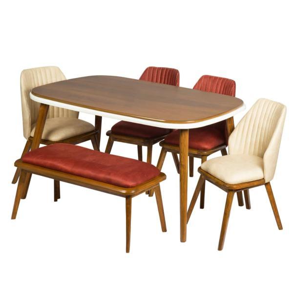 میز و صندلی ناهارخوری مدل پارادا کد 3625
