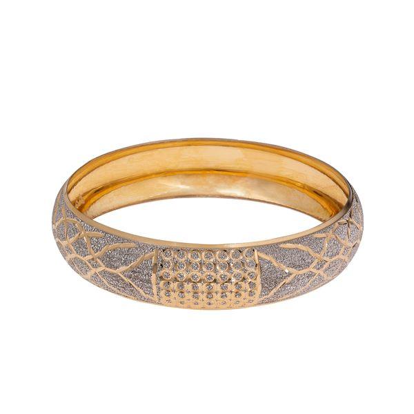 النگو طلا 18 عیار زنانه گالری یار طلا کد AL34-W-4