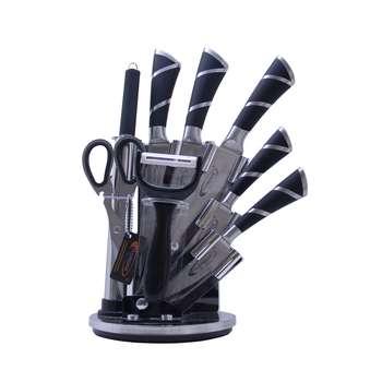 سرویس چاقو آشپزخانه 9 پارچه فلورانس کد 05
