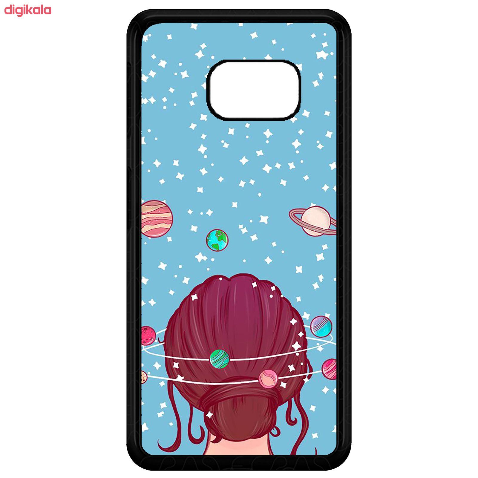 کاور طرح Girl مدل CHL50211 مناسب برای گوشی موبایل سامسونگ Galaxy S7