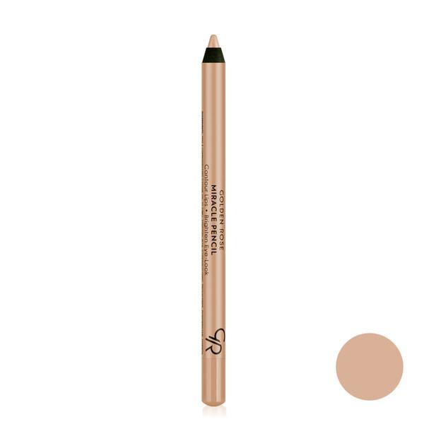 مداد محو کننده ابرو گلدن رز مدل miracle pencil