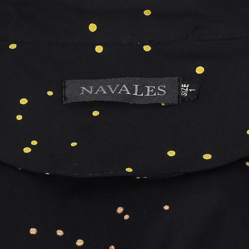 شومیز زنانه ناوالس کد Dots01-YL