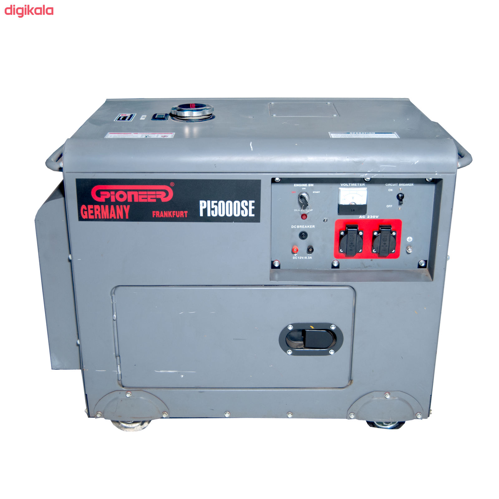 موتور برق پایونیر مدل PI5000SE main 1 2