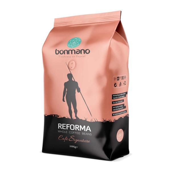 دانه قهوه اسپرسو ریفورما بن مانو - 1000 گرم