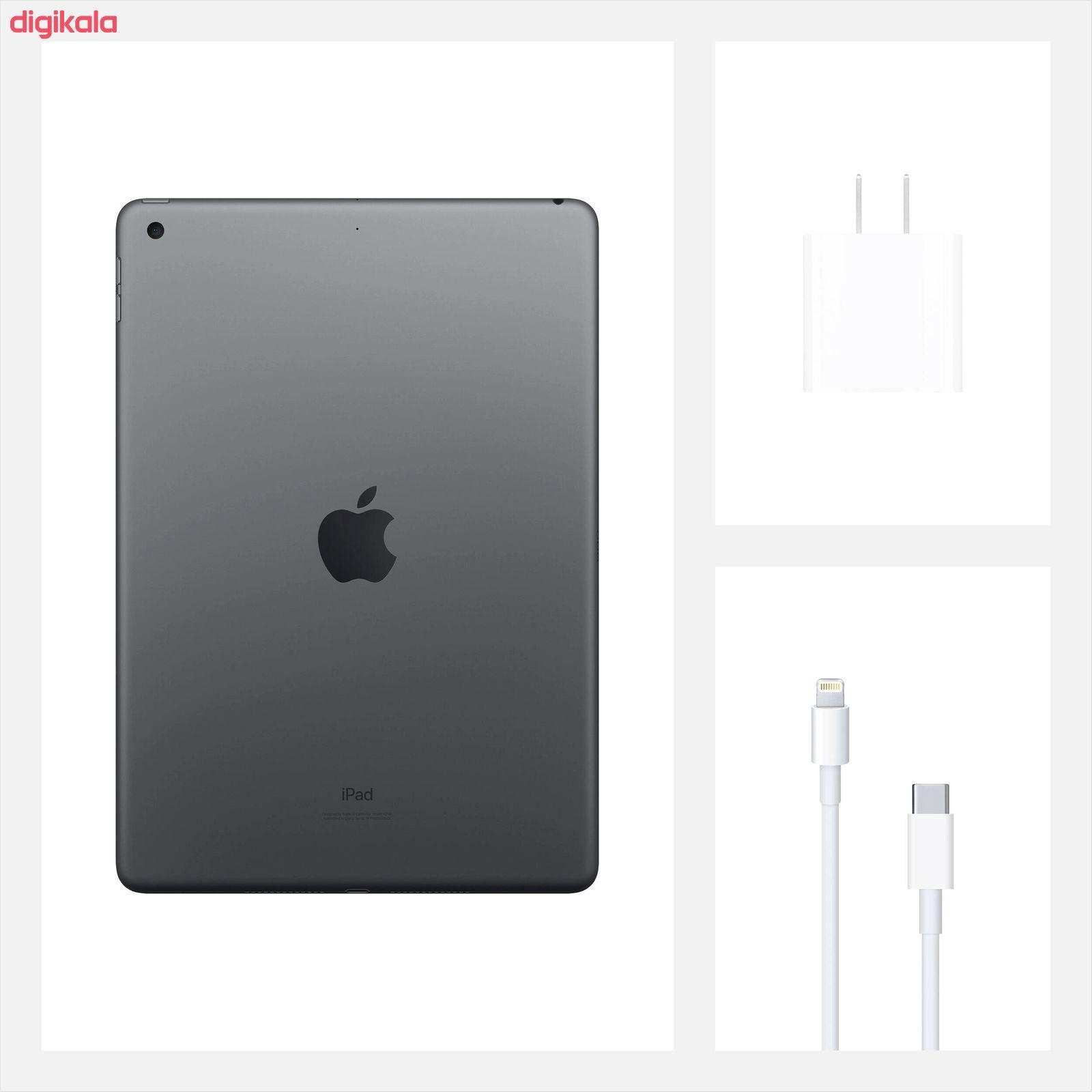 تبلت اپل مدل iPad 10.2 inch 2020 4G/LTE ظرفیت 128 گیگابایت  main 1 12
