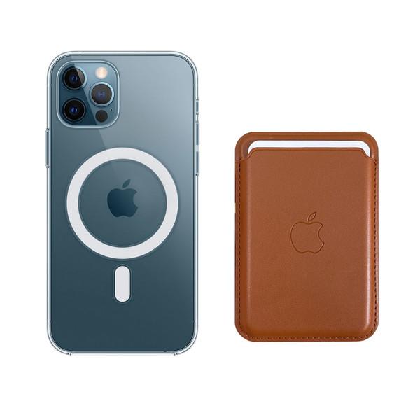کاور آی دوژی مدل Magsafe مناسب برای گوشی موبایل اپل iphone 12/12Pro به همراه کیف